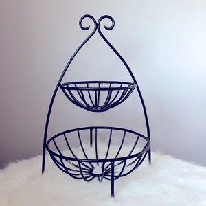 2-Tier Iron Produce Basket